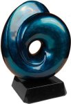 Blue Art Sculpture Award Artistic Awards