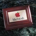 Wood Box with Stonecast Inlay Executive Gifts & Awards