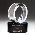 Galaxy Flame Crystal Award Fire and Safety Awards