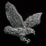 Flying Eagle Pewter Accent Patriotic Awards