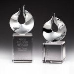 Solid Flame Crystal Award Sales Awards