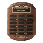 Bronze Framed Perpetual Plaques Sales Awards