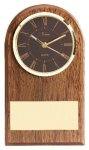 American Walnut Slanted Arch Clock Secretary & Staff Gift Awards
